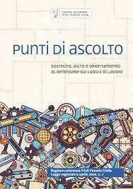 """Punti di Ascolto accreditati in base alla legge regionale 7/2005 in materia di contrasto al """"mobbing"""". Nuova brochure"""